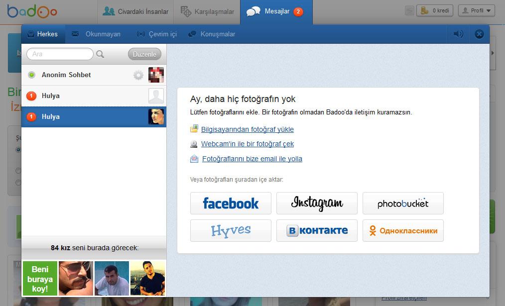 Badoo sans facebook