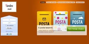 Yandex Kaydol / E-posta Al