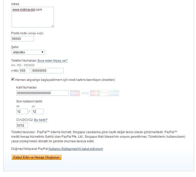PayPal Kaydol – PayPal Hesap Aç