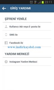 Instagram Şifre Sıfırlama Yöntemleri