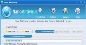 Nano Antivirüs Yardım