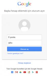 Google Play Üye Ol