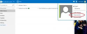 Outlook Şifresi Değiştirme