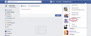 Facebook Hesabı Şifre Değiştirme