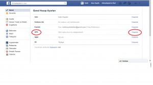 Facebook Şifre Değiştirme Yardım