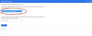 Outlook Şifre Değiştirme Yardım