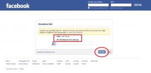 Facebook Hesabım Çalındı Yardım
