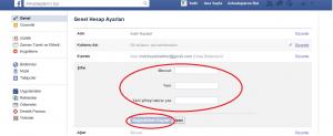 Facebook Şifresi Değiştirme Anlatım