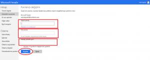 Outlook Şifre Değiştirme Anlatım