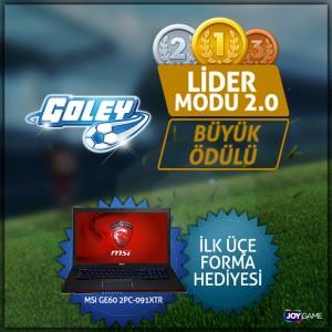 Goley Lider Modu 2.0 Turnuvasına Katıl