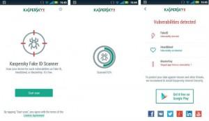 Kasperskey Fake ID Scanner Yardım