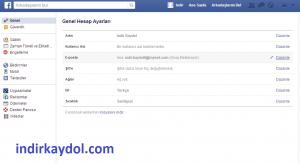 Facebook Hesap Yardım