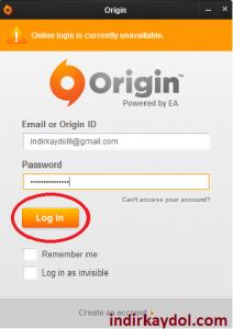 Origin Nasıl Kayıt Olunur