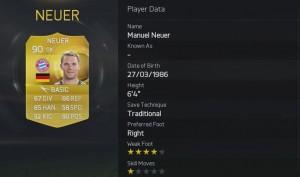 FIFA 2015 - 5. Neuer