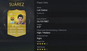 FIFA 2015 - 7. Suarez
