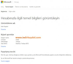 Microsoft Hesabı Kapatma