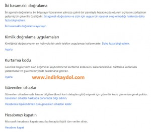MSN Hesabı Kapatma