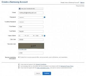 Samsung Kaydol