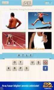 Resimli Kelime Bulmaca Atlet