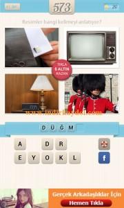 Resimli Kelime Bulmaca Düğme