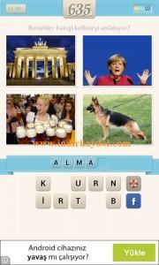 Resimli Kelime Bulmaca Alman