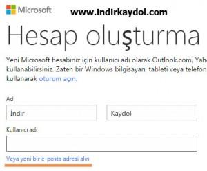 Hotmail Hesap Aç