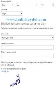 Outlook Kaydol