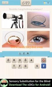 Resimli Kelime Bulmaca Lens