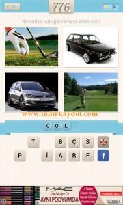 Resimli Kelime Bulmaca Golf