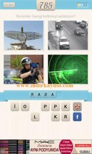 Resimli Kelime Bulmaca Radar