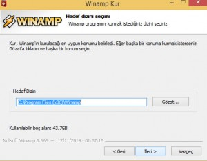 Winamp 32 Bit İndir