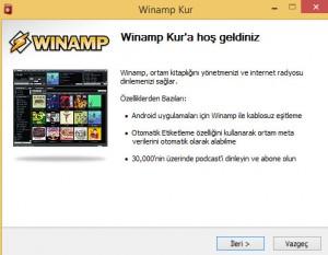 Winamp Kurulumu Yardım