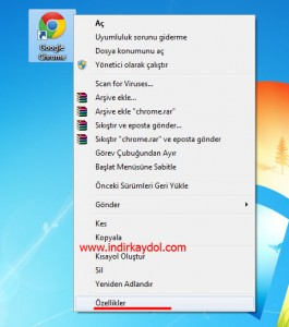 V9-tr Google Chrome'dan Temizleme