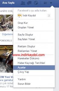 Facebook Uygulama Ayarlarını Yönetme