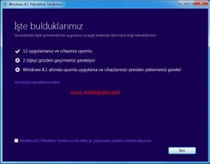 Windows 8.1 Yükseltme Yardımcısı Nasıl Kullanılır