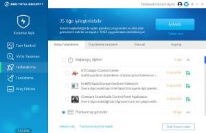360 Total Security Bilgisayarı Hızlandırma