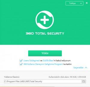 360 Total Security Nasıl Kurulur