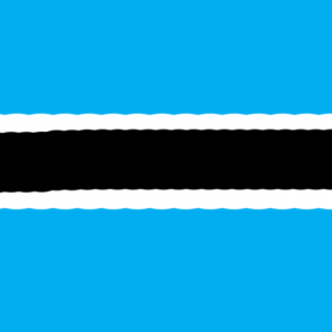botswana - Botsvana Bayrağı Skin Agar.io