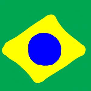 brazil - Brezilya Bayrağı Skin Agar.io