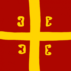 byzantium - Bizans Bayrağı Skin Agar.io