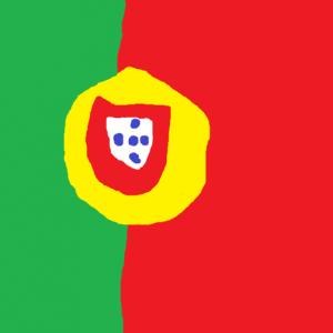portugal - Portekiz Bayrağı Skin Agar.io