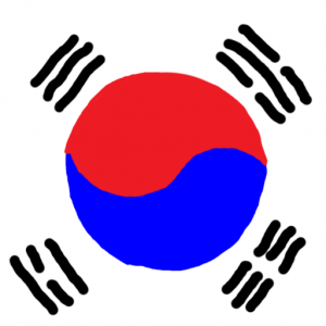south korea - Güney Kore Bayrağı Skin Agar.io