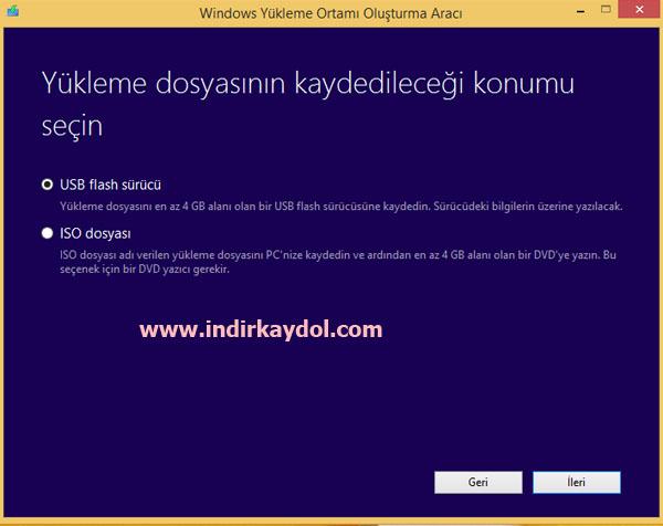 Windows 8.1 Yükleme DVDsi İndir