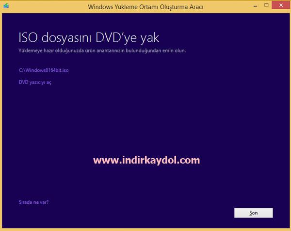 Windows 8.1 iso İndir