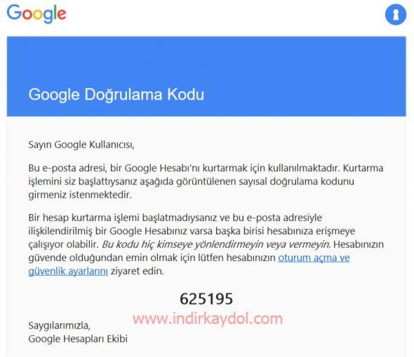 Google Hesabım Çalındı Nasıl Geri Alabilirim