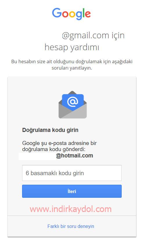 Google Hesabım Çalındı