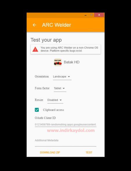 Arc Welder APK Çalıştırıcı Program