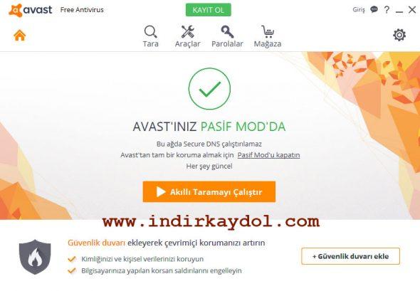 Avast 1 Yıllık Ücretsiz Lisansı Girme