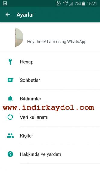 Whatsapp Telefon Kayıt Etme