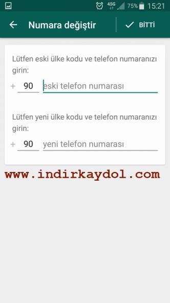 Whatsapp Hesap Aktarma